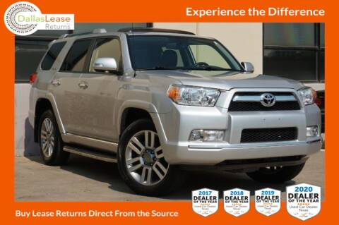 2013 Toyota 4Runner for sale at Dallas Auto Finance in Dallas TX