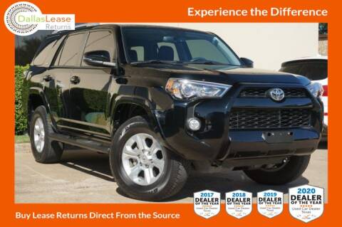 2018 Toyota 4Runner for sale at Dallas Auto Finance in Dallas TX