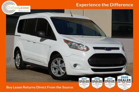 2014 Ford Transit Connect Wagon for sale at Dallas Auto Finance in Dallas TX