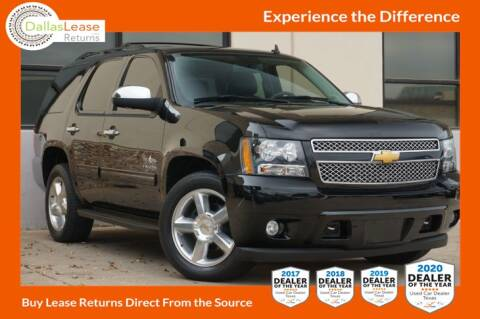 2013 Chevrolet Tahoe for sale at Dallas Auto Finance in Dallas TX