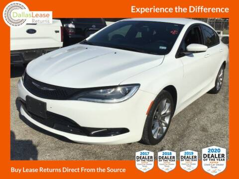 2016 Chrysler 200 for sale at Dallas Auto Finance in Dallas TX