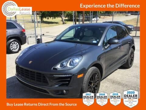 2018 Porsche Macan for sale at Dallas Auto Finance in Dallas TX