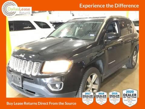 2016 Jeep Compass for sale at Dallas Auto Finance in Dallas TX