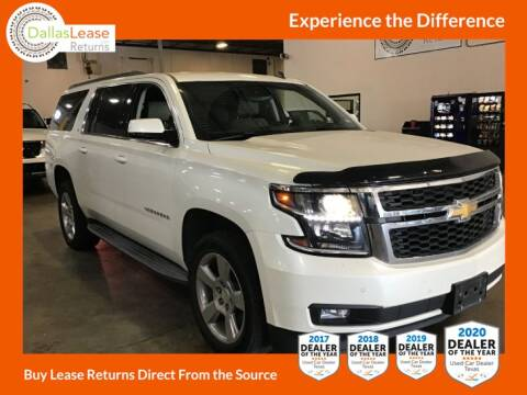 2015 Chevrolet Suburban for sale at Dallas Auto Finance in Dallas TX