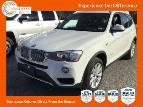 2016 BMW X3 for sale at Dallas Auto Finance in Dallas TX