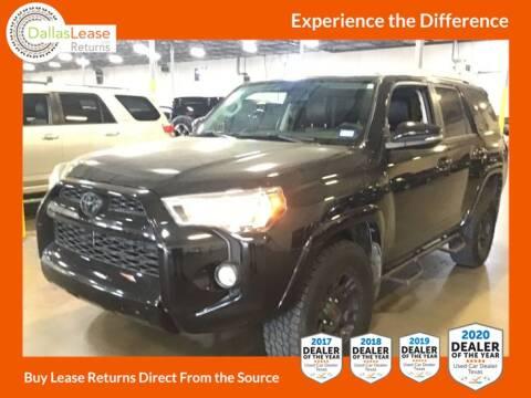 2016 Toyota 4Runner for sale at Dallas Auto Finance in Dallas TX