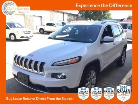 2015 Jeep Cherokee for sale at Dallas Auto Finance in Dallas TX