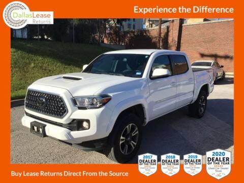 2019 Toyota Tacoma for sale at Dallas Auto Finance in Dallas TX