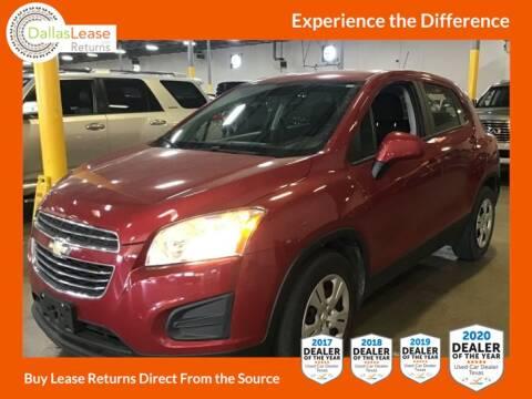 2015 Chevrolet Trax for sale at Dallas Auto Finance in Dallas TX