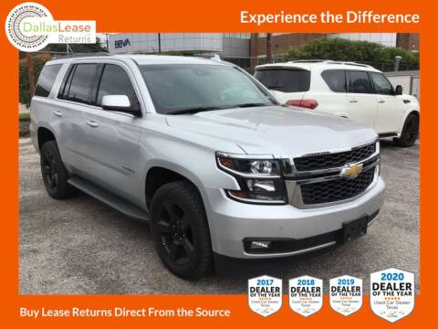 2017 Chevrolet Tahoe for sale at Dallas Auto Finance in Dallas TX
