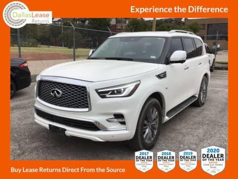 2018 Infiniti QX80 for sale at Dallas Auto Finance in Dallas TX