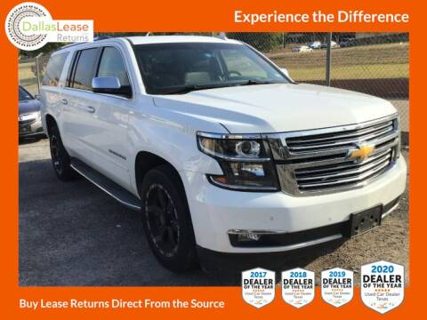 2016 Chevrolet Suburban for sale at Dallas Auto Finance in Dallas TX