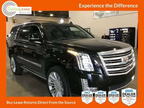 2017 Cadillac Escalade for sale at Dallas Auto Finance in Dallas TX