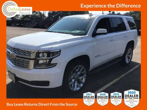 2018 Chevrolet Tahoe for sale at Dallas Auto Finance in Dallas TX