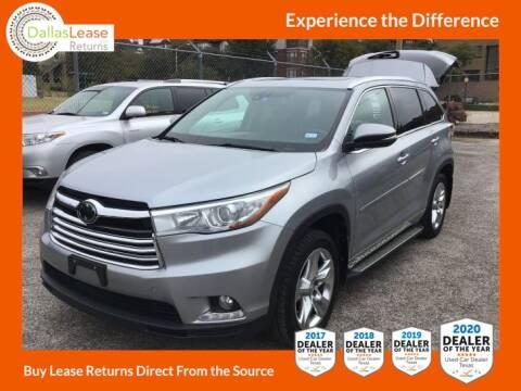 2014 Toyota Highlander for sale at Dallas Auto Finance in Dallas TX