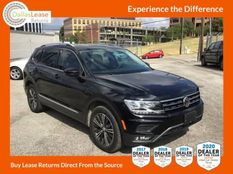 2019 Volkswagen Tiguan for sale at Dallas Auto Finance in Dallas TX
