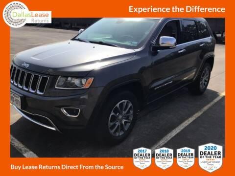 2016 Jeep Grand Cherokee for sale at Dallas Auto Finance in Dallas TX