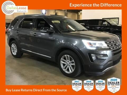 2016 Ford Explorer for sale at Dallas Auto Finance in Dallas TX