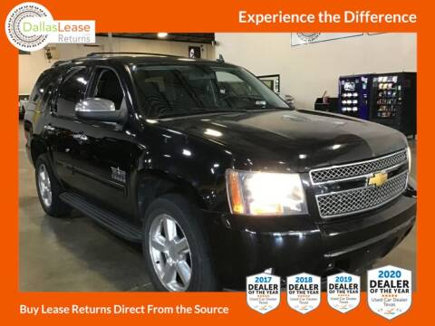 2012 Chevrolet Tahoe for sale at Dallas Auto Finance in Dallas TX