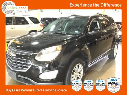 2016 Chevrolet Equinox for sale at Dallas Auto Finance in Dallas TX