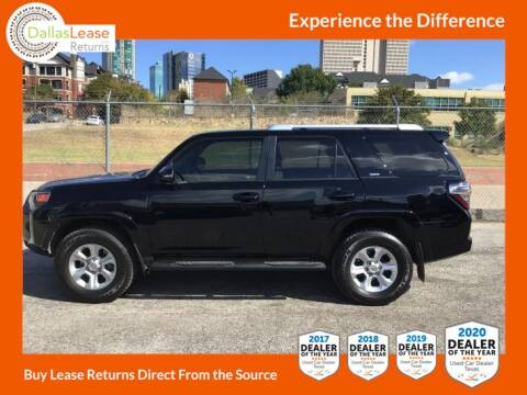 2017 Toyota 4Runner for sale at Dallas Auto Finance in Dallas TX