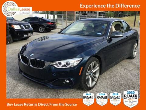 2017 BMW 4 Series for sale at Dallas Auto Finance in Dallas TX