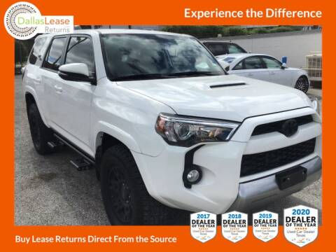 2019 Toyota 4Runner for sale at Dallas Auto Finance in Dallas TX
