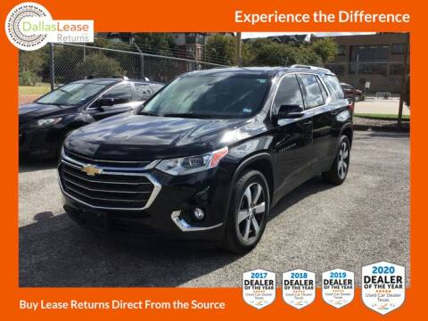2018 Chevrolet Traverse for sale at Dallas Auto Finance in Dallas TX