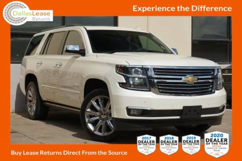 2015 Chevrolet Tahoe for sale at Dallas Auto Finance in Dallas TX