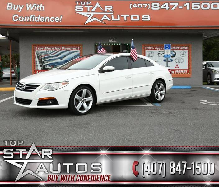 2011 Volkswagen CC for sale at Top Star Autos in Kissimmee FL