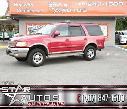 2000 Ford Expedition for sale at Top Star Autos in Kissimmee FL