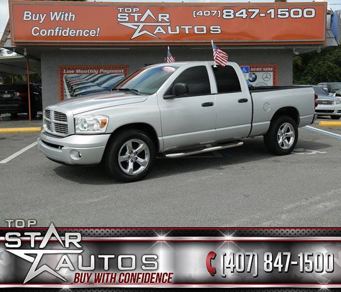 2007 Dodge Ram Pickup 1500 for sale at Top Star Autos in Kissimmee FL