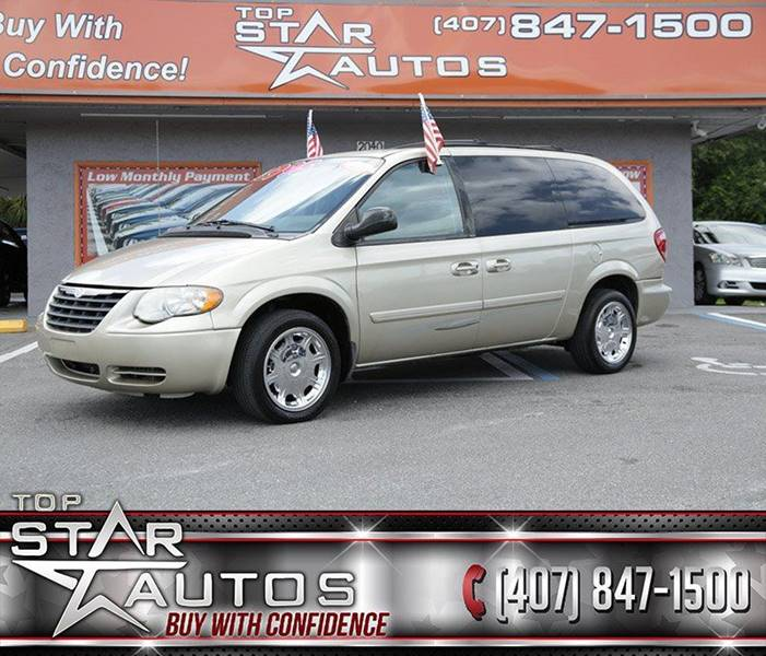 2005 Chrysler Town and Country for sale at Top Star Autos in Kissimmee FL