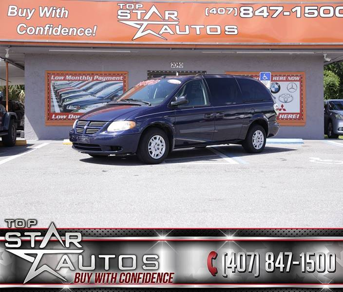 2005 Dodge Grand Caravan for sale at Top Star Autos in Kissimmee FL