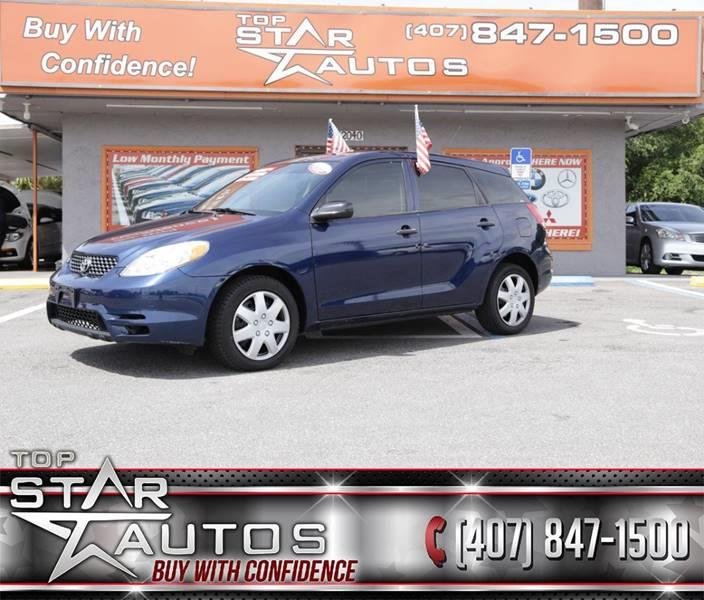 2003 Toyota Matrix for sale at Top Star Autos in Kissimmee FL