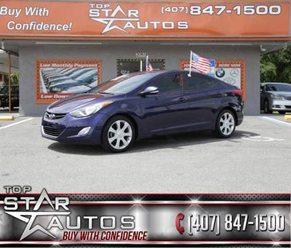2013 Hyundai Elantra for sale at Top Star Autos in Kissimmee FL