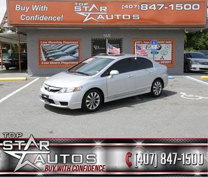 2010 Honda Civic for sale at Top Star Autos in Kissimmee FL