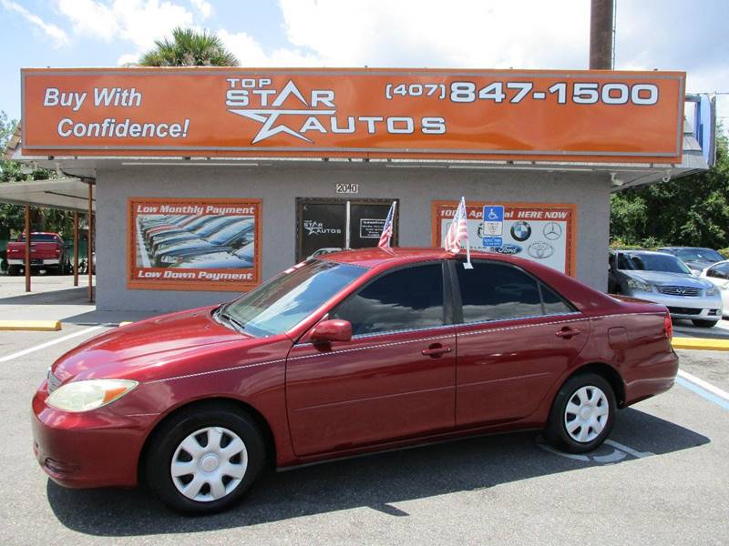 2004 Toyota Camry for sale at Top Star Autos in Kissimmee FL