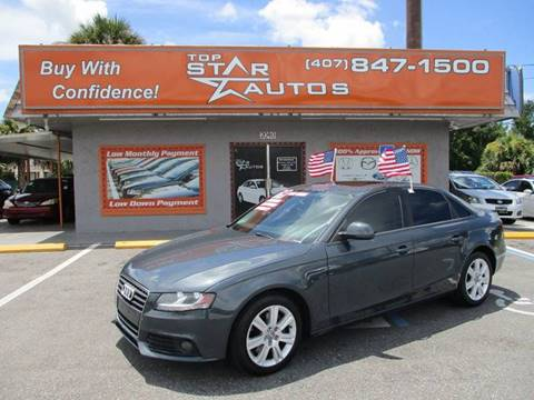 2009 Audi A4 for sale at Top Star Autos in Kissimmee FL