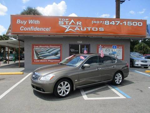 2007 Infiniti M35 for sale at Top Star Autos in Kissimmee FL