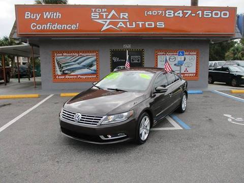 2013 Volkswagen CC for sale at Top Star Autos in Kissimmee FL