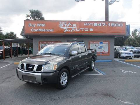 2005 Nissan Titan for sale at Top Star Autos in Kissimmee FL