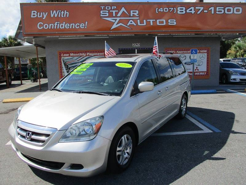 2006 Honda Odyssey for sale at Top Star Autos in Kissimmee FL