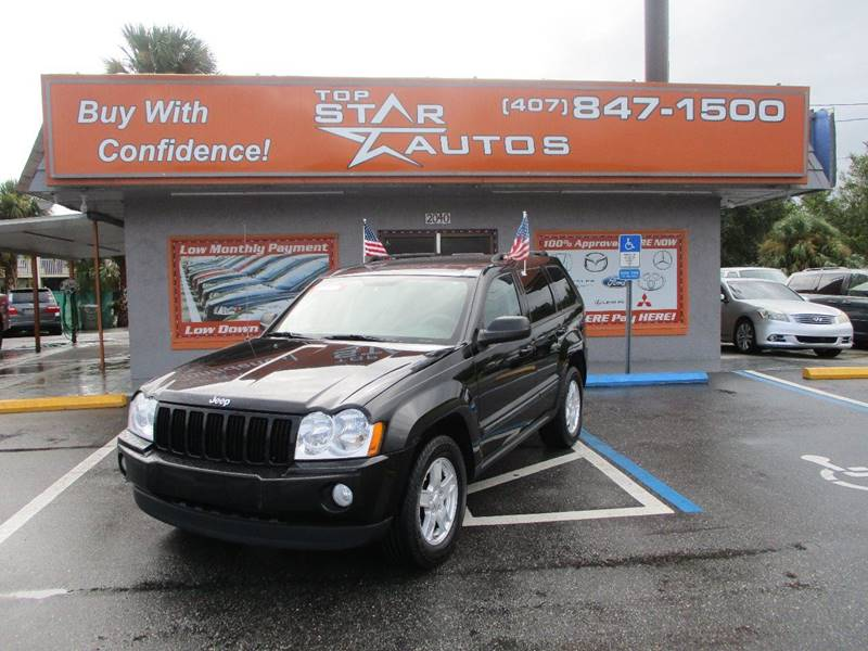 2007 Jeep Grand Cherokee for sale at Top Star Autos in Kissimmee FL