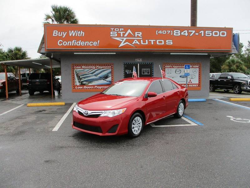 2012 Toyota Camry for sale at Top Star Autos in Kissimmee FL