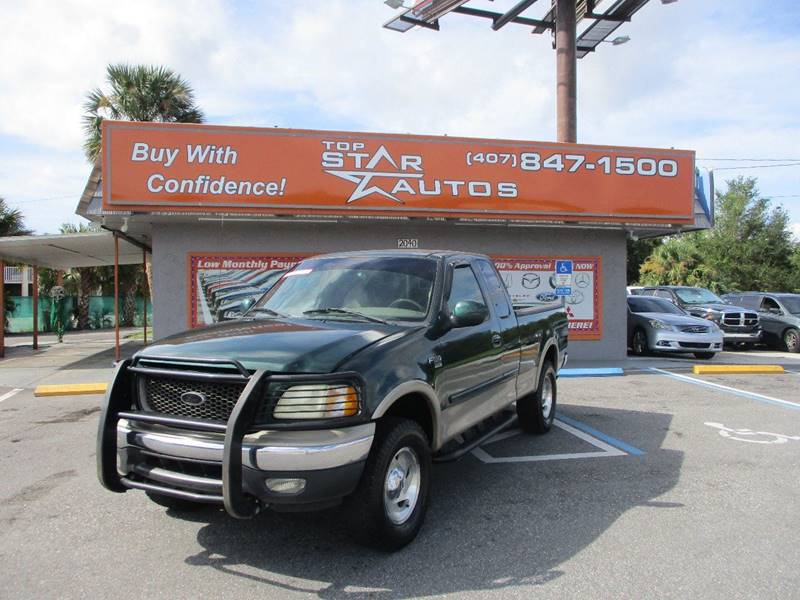 2000 Ford F-150 for sale at Top Star Autos in Kissimmee FL