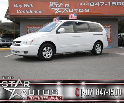 2006 Kia Sedona for sale at Top Star Autos in Kissimmee FL
