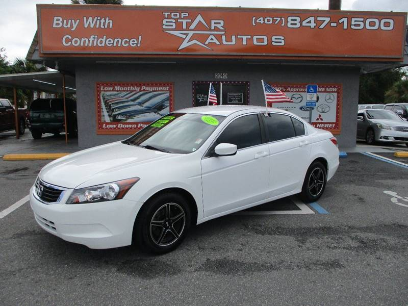 2009 Honda Accord for sale at Top Star Autos in Kissimmee FL