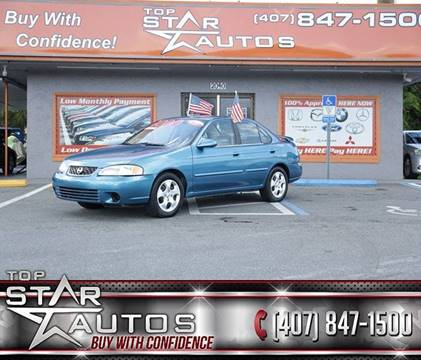 2003 Nissan Sentra for sale at Top Star Autos in Kissimmee FL
