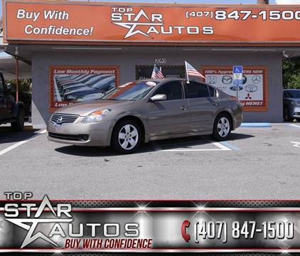 2008 Nissan Altima for sale at Top Star Autos in Kissimmee FL
